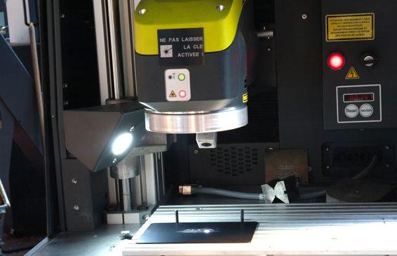 Gravure laser